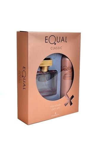 Equal  Classic Edt 75Ml+Deo150Ml Kadın Parfüm Set Renksiz